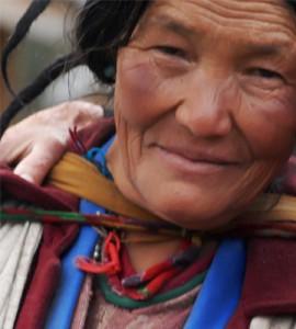 Bhutanese Woman.