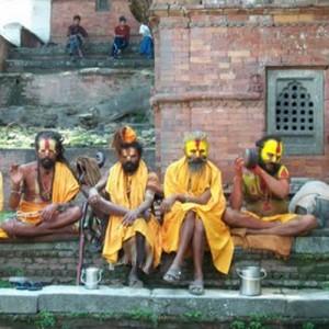 Nepali villagers.
