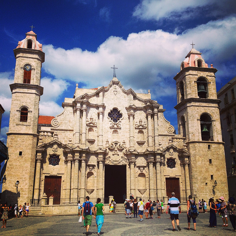 Visit an historic church in Cuba
