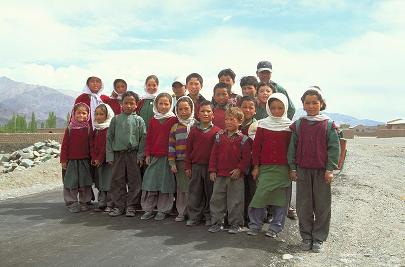School Children in Ladakh India