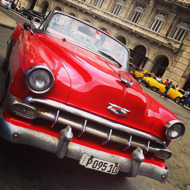 Cuba's Famous Vintage Cars