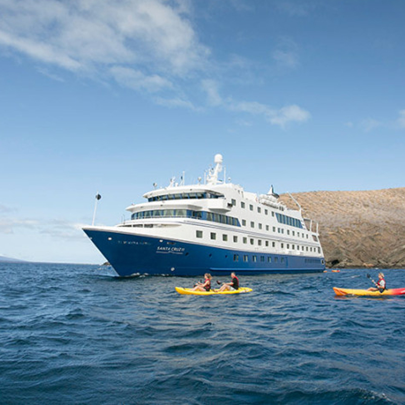touring the galapagos