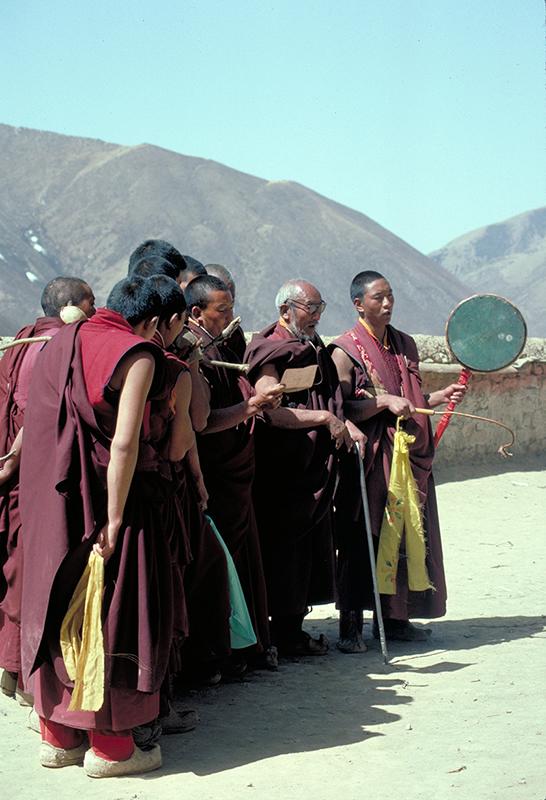Drigung Musicians Tibet