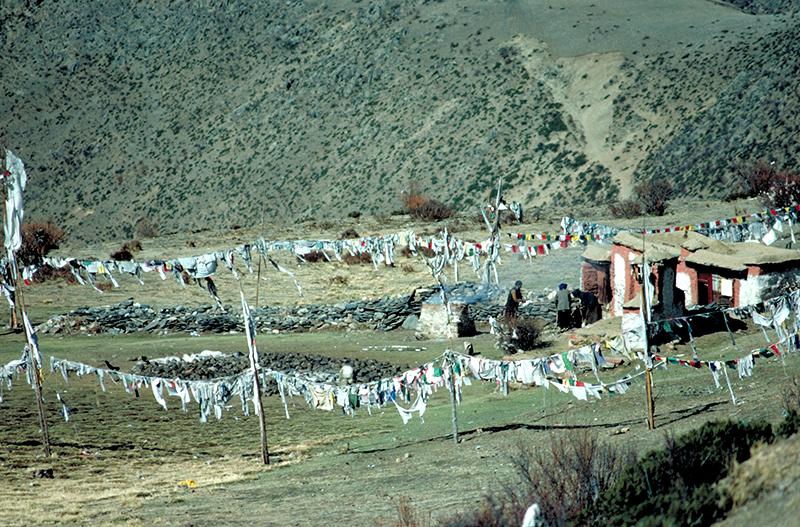 Tibet Drigung Sky Burial Site