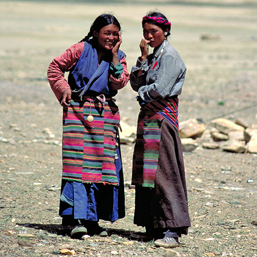 Dingri Women Tibet
