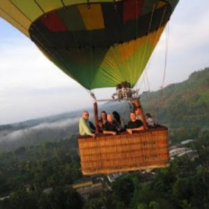 sri lanka hot air balloon