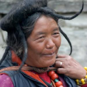 Bhutan local woman