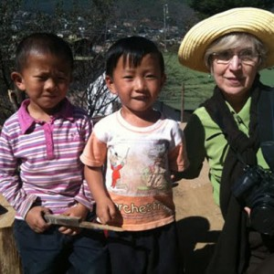 Bhutan travel local children