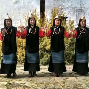 bhutan women locals