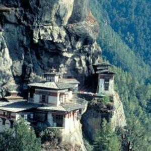 Bhutan travel taksang view