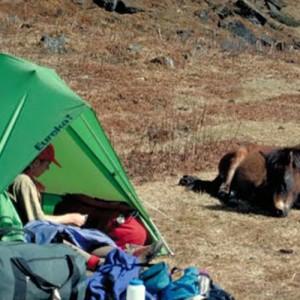 Bhutan trekking tents