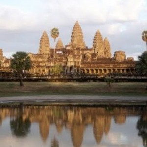 Angkor sunset travel Cambodia