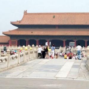 Travel to China forbidden city