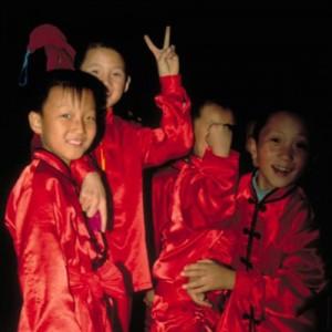 children dancers silk road in china