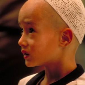 china silk road muslim boy portrait