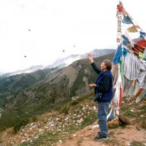 Tibetan travel man