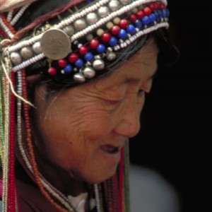 local woman in china