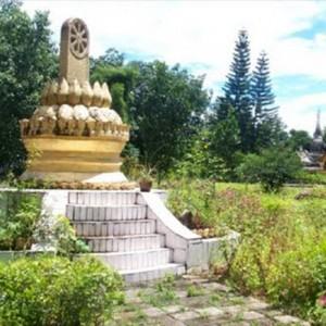 white pagoda in china