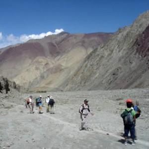 India nomadic trek trail