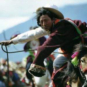Kham horseman in Tibet