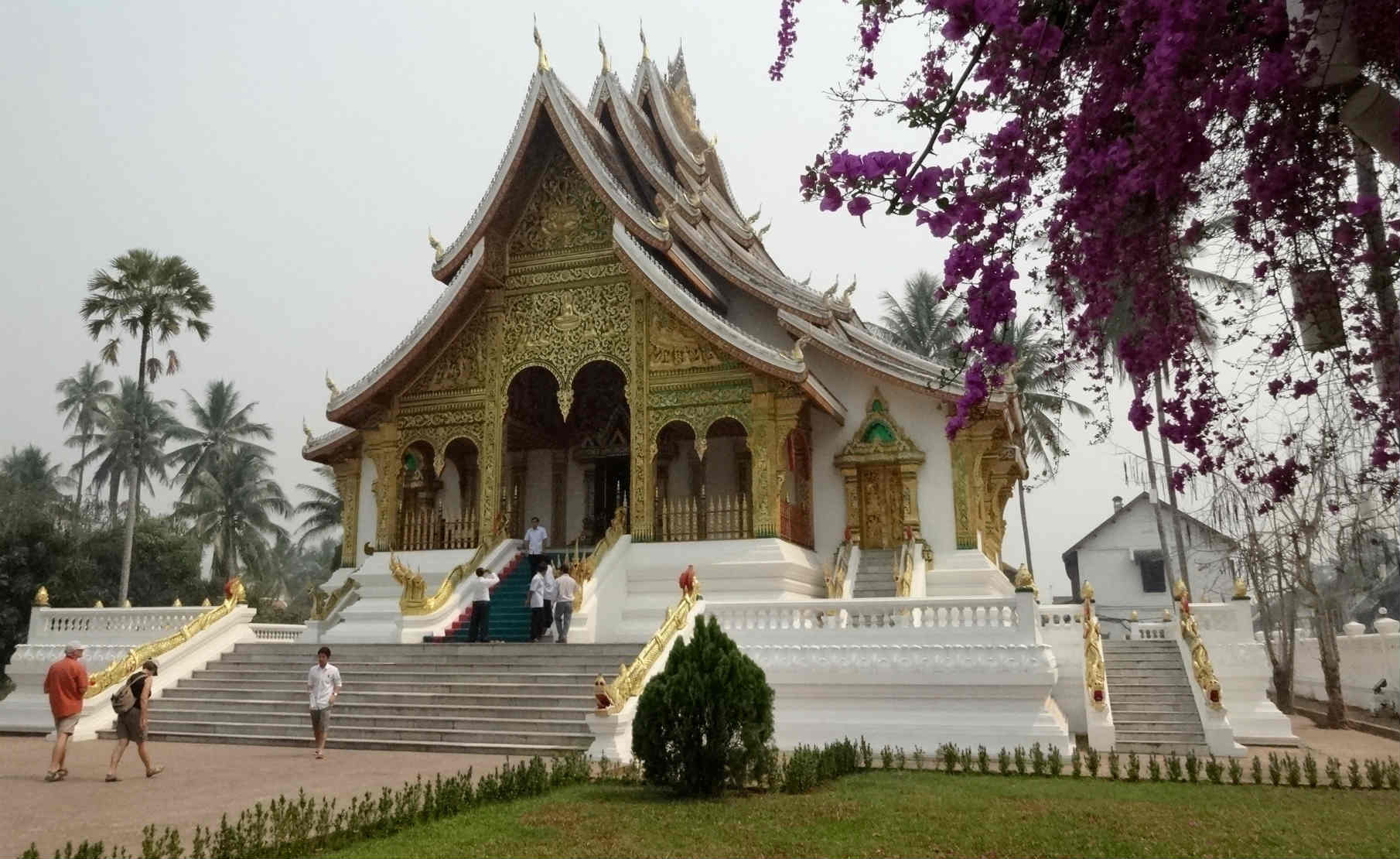Luang Prabang in Laos buddhist temple
