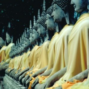 thailand ayutthaya monks