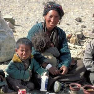 Tibetan children Saga