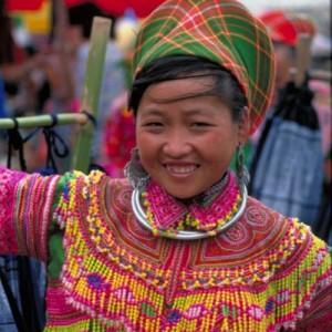 Vietnam Homong Lady