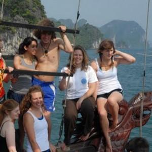 Vietnam custom tours sea canoe group