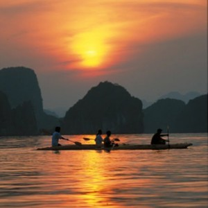 Vietnam custom tours sunset