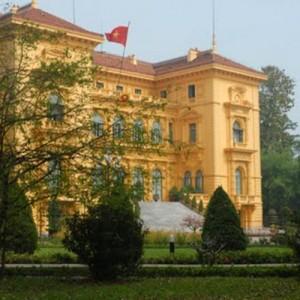 Vietnam hanoi presidents palace