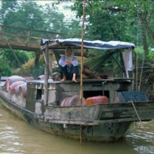 Vietnam tours mekong boat