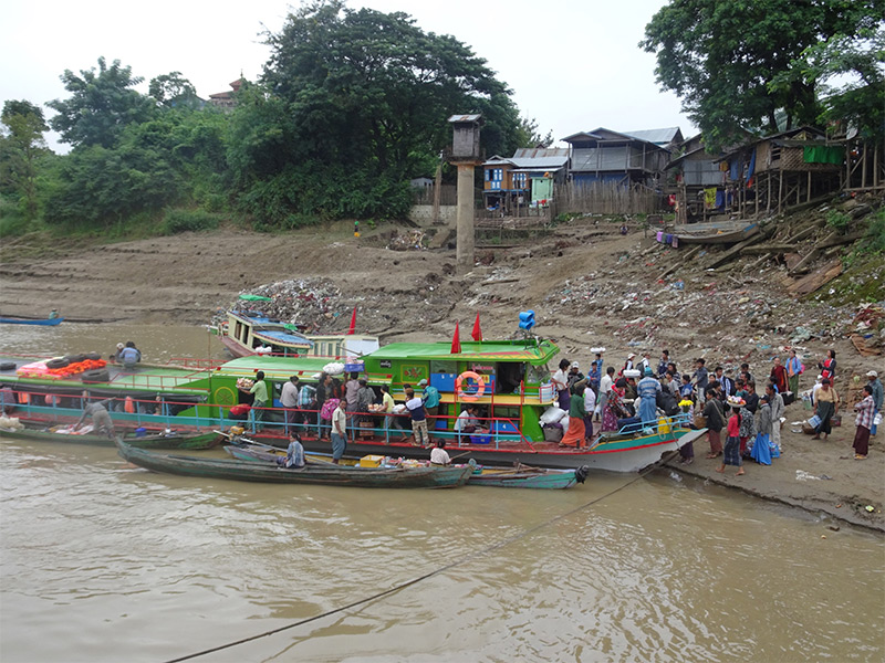 Chindwin River Travel Cruising