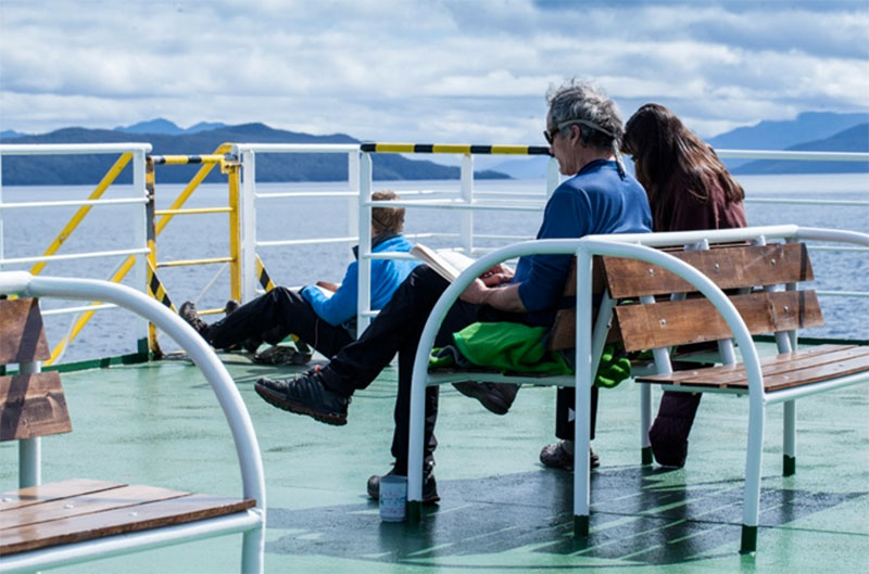 Patagonia Travel by Ferry
