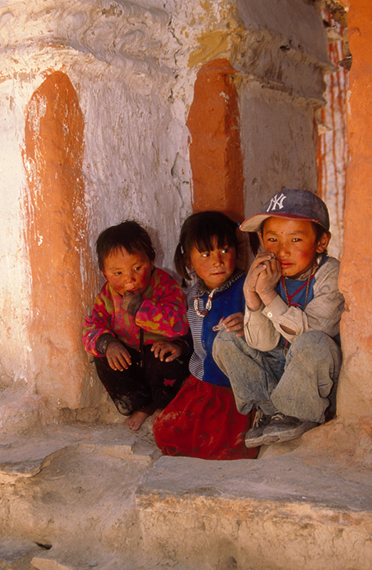 Children in Tibet
