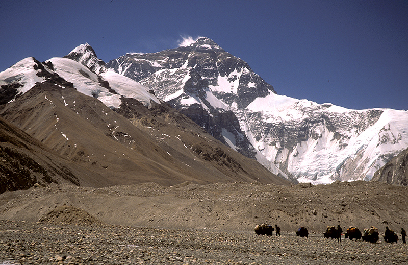 Everest Northface Tibet