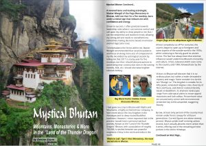 Mystical Bhutan Article