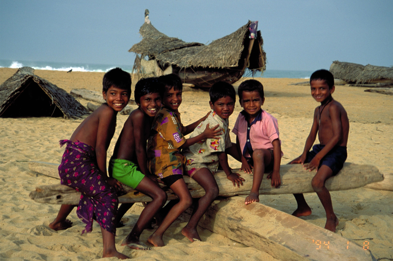 Children in South India