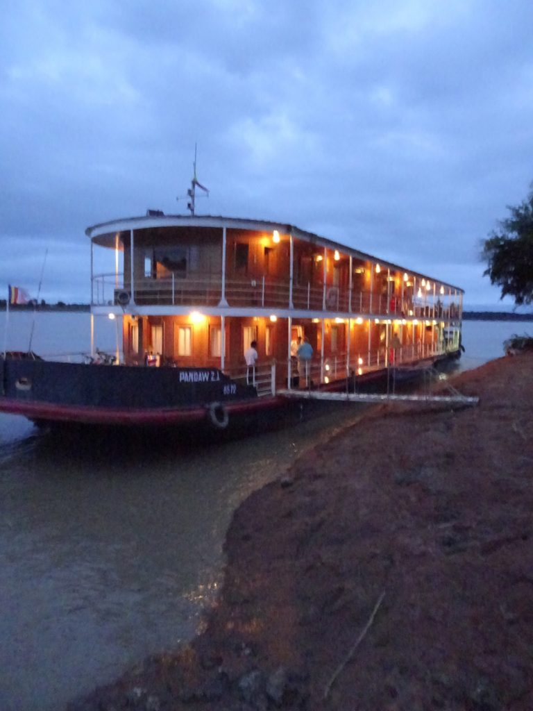 cruising the chindwin river