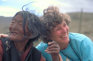 Tibet - Karen and Lady