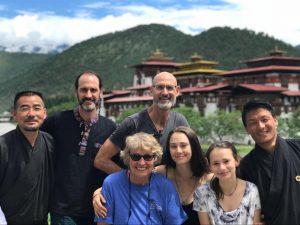 group travel to bhutan
