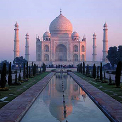 Taj Majal in India Tour