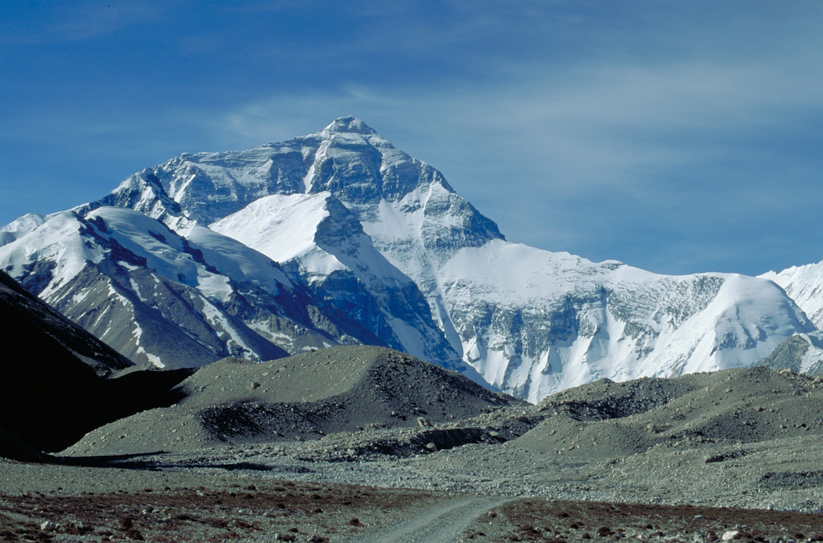Tibet DzaRongphu Everest View