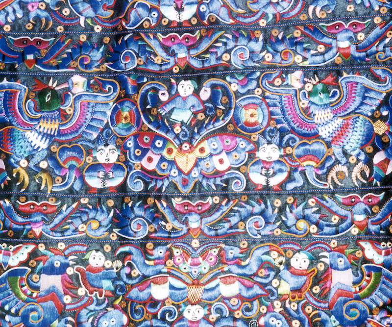 textiles of asia in china